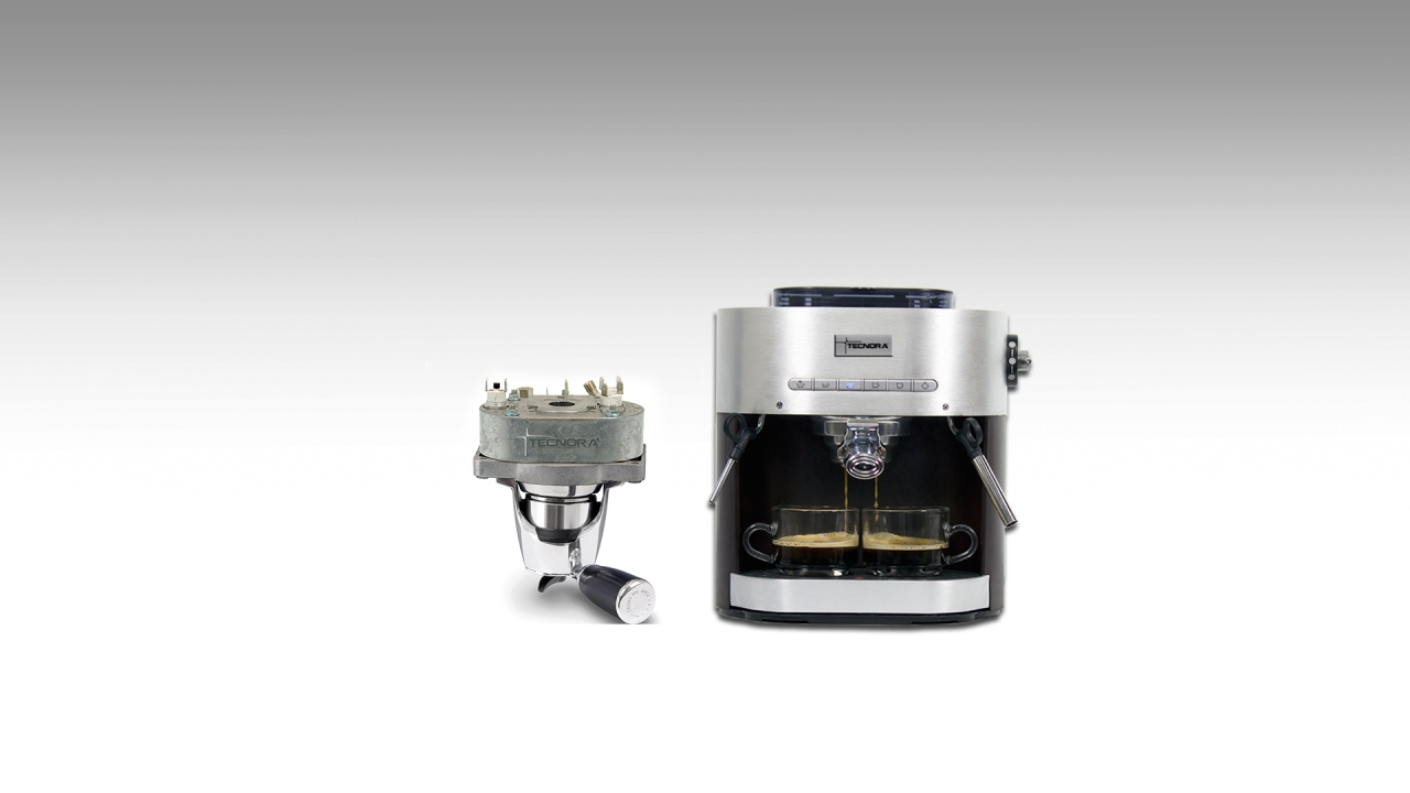 thermoblock in tecnora espresso coffee maker